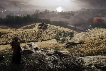 Ghost of Tsushima screenshot from E3 2018