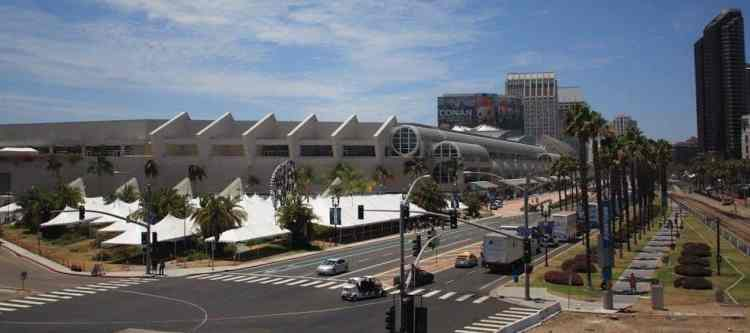 San Diego Convention Center during Comic Con
