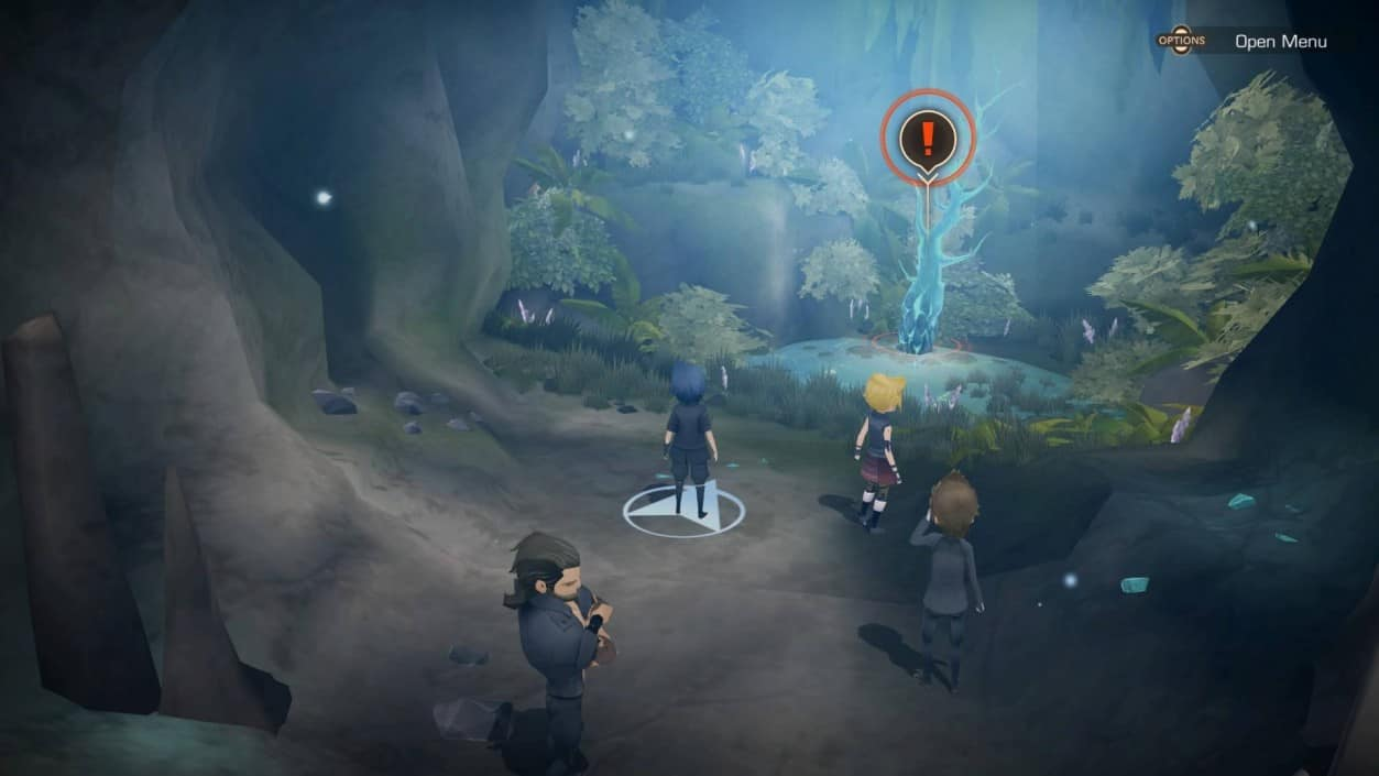 final fantasy 15 pocket edition switch gameplay