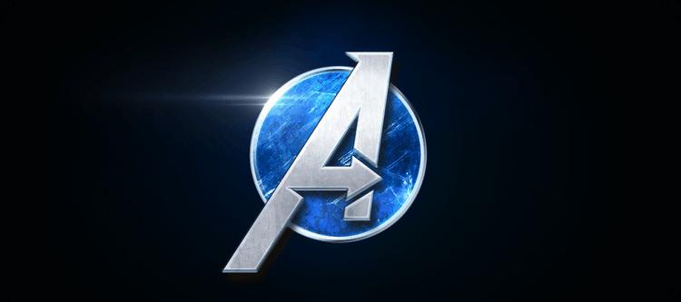 Marvel's Avengers Title Screen Logo