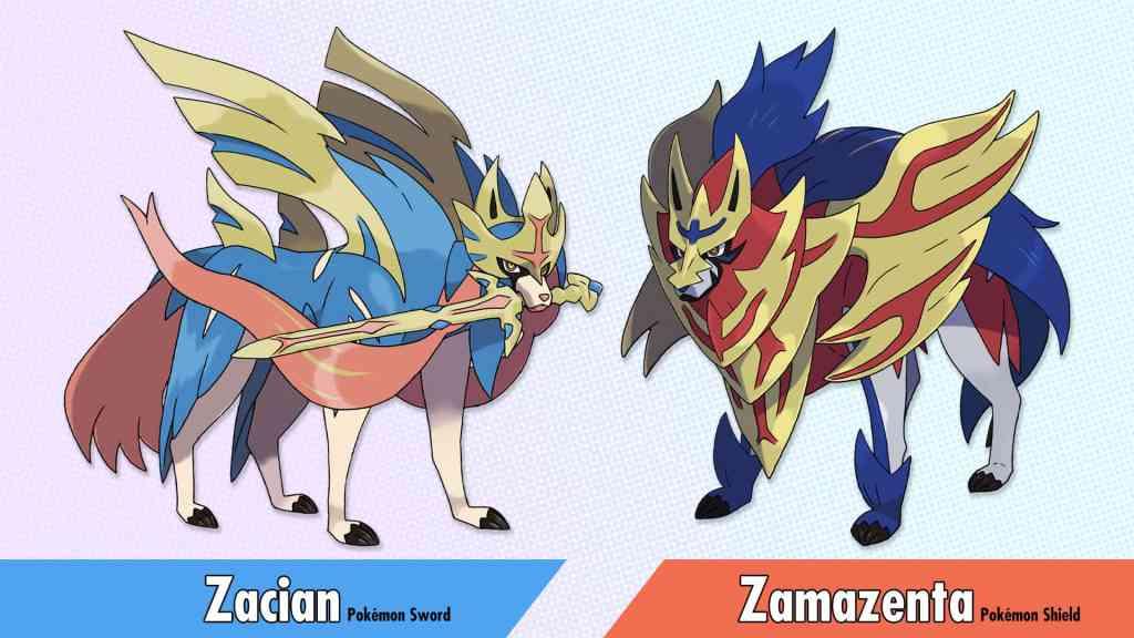 Pokémon Sword and Shield - Legendaries