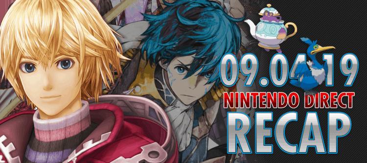 Nintendo Direct 09.04 Recap