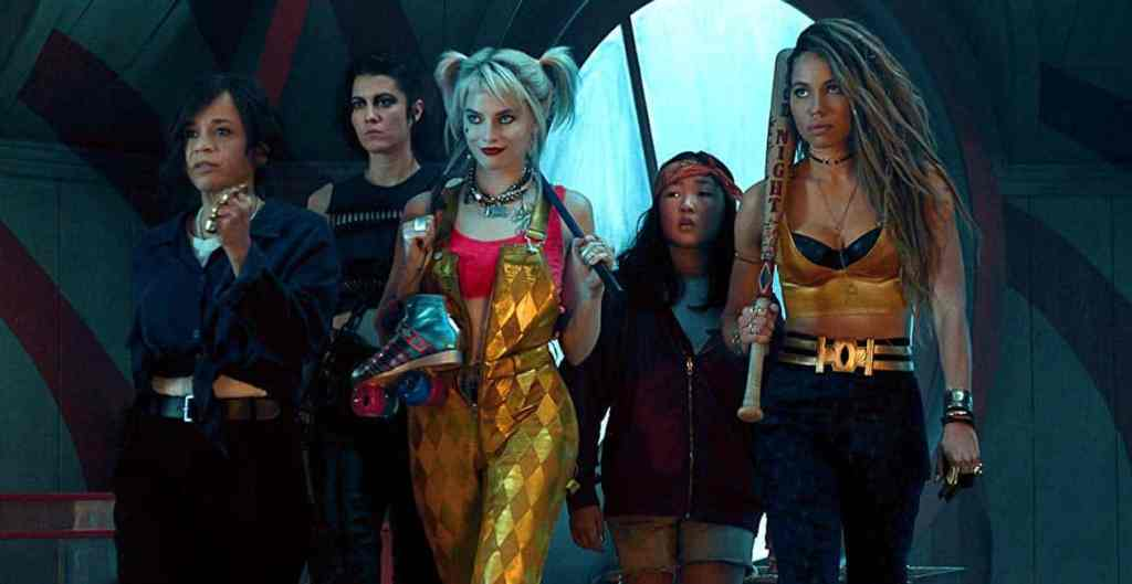Birds of Prey ensemble shot.