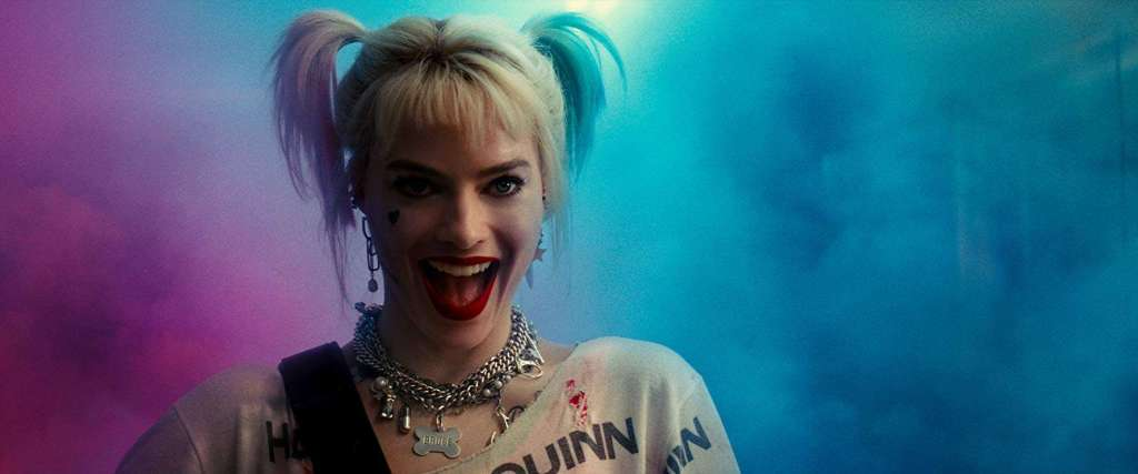 Harley Quinn smiling in Birds of Prey