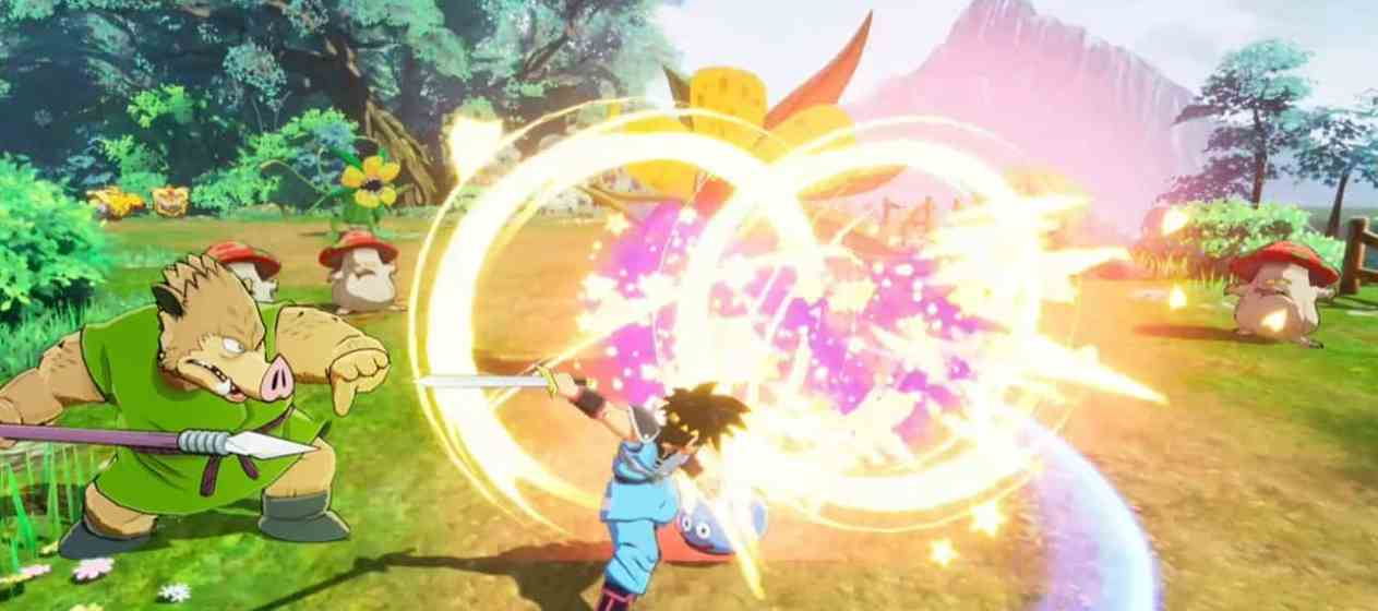 Dragon Quest: The Adventure of Dai: Infinity Strash gameplay