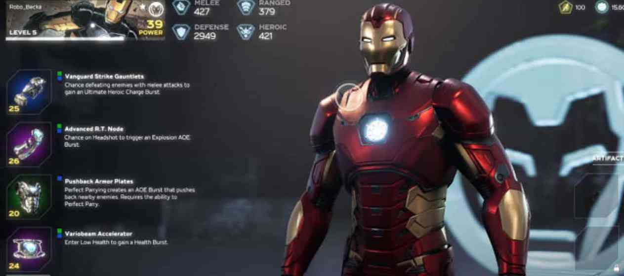 Marvel's Avenger's Customization