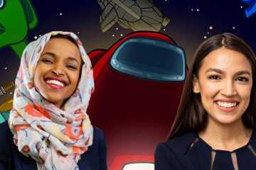 AOC and Illhan Omar play Among Us.