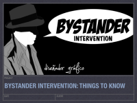 Bystander Intervention presentation