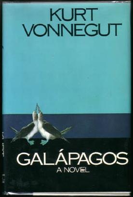 Portada de la primera edición de Galápagos