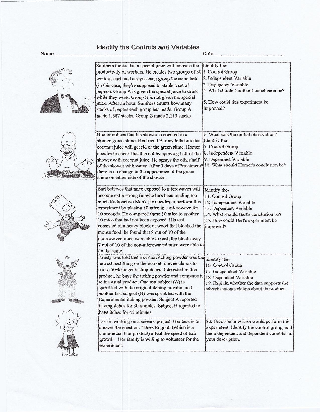 Worksheet Scientific Method Worksheet Kids Worksheet Fun