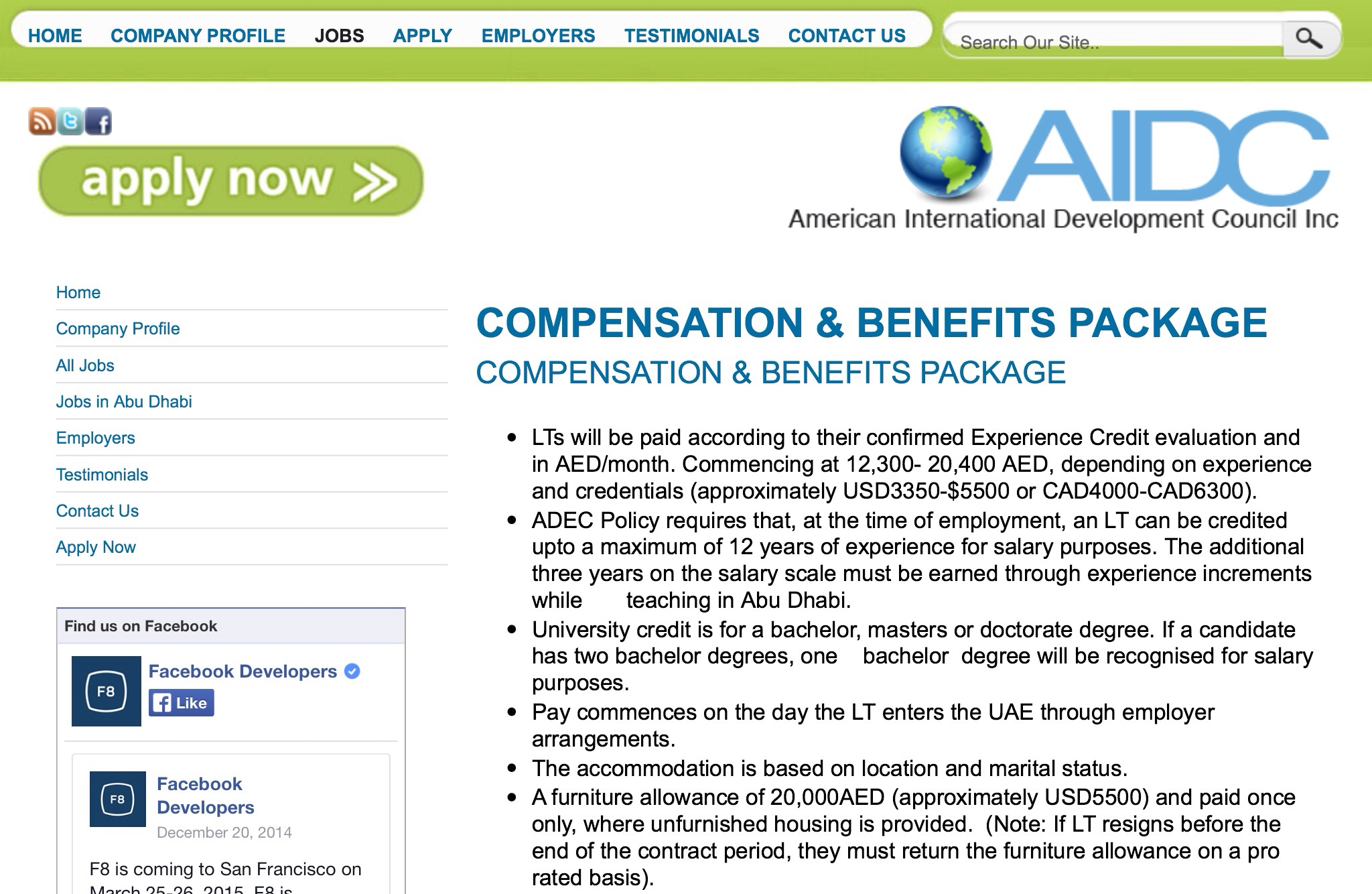 Compensation Amp Benefits Package For Lts