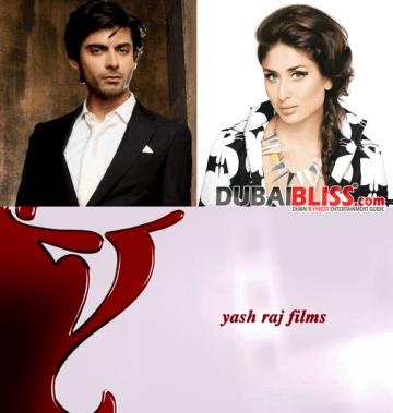 Fawad Khan and Kareena to work togethe in Yash Raj Films