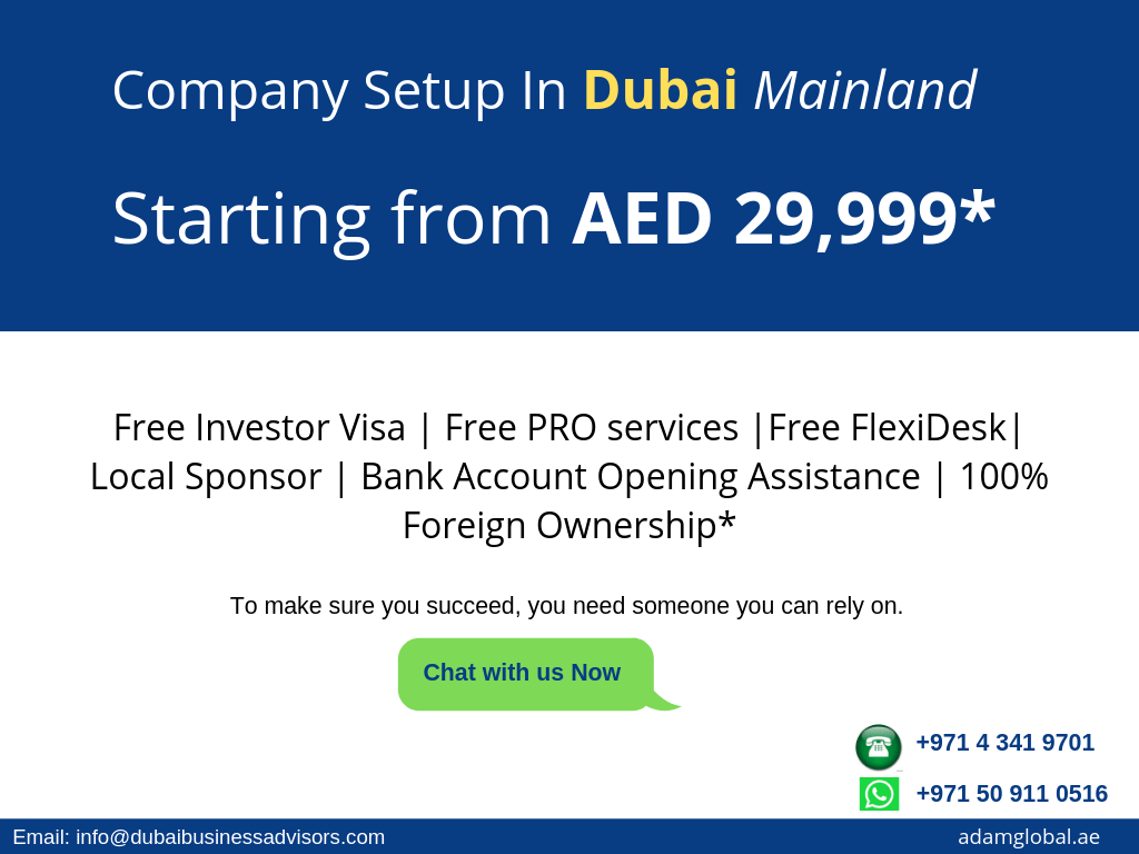 Business setup in Dubai | A helpfull illustrated guide 2019