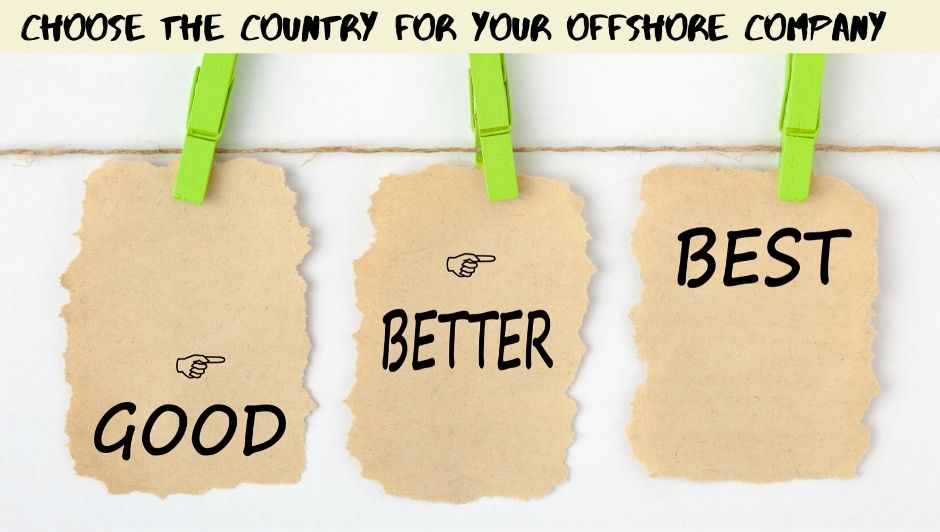 best offshore countries to setup offshore company