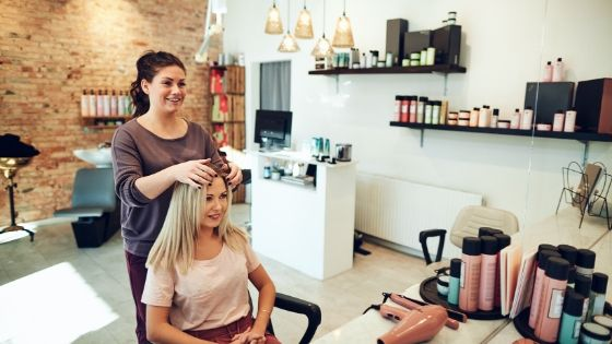 Salon business in Dubai