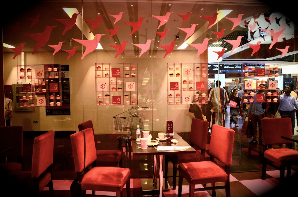 The hummingbird Bakery - Dubai Mall