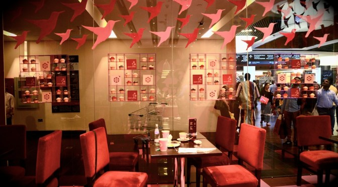The hummingbird Bakery – Dubai Mall