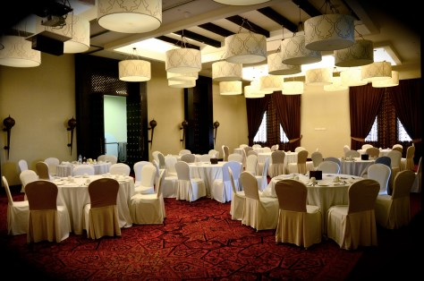 Ballroom to host an special function or corporate workshops