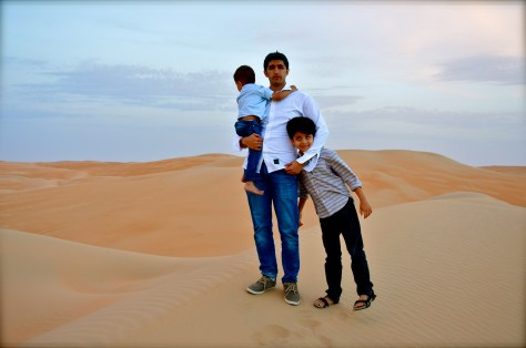 A pose from the LIWA deserts