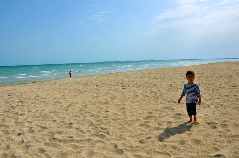 Beach at Danat Jebel Dhanna Resort