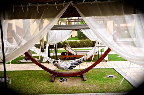 Relax in open air at Tilal Liwa Hotel