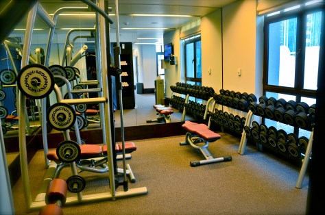 Gym - Vida Downtown Dubai