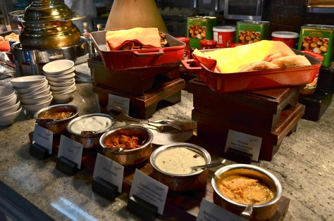 Indian Breakfast at Ballaro, Conrad Dubai