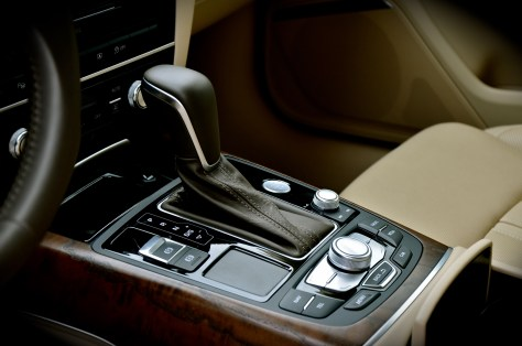 Leather gear knob - Audi A6