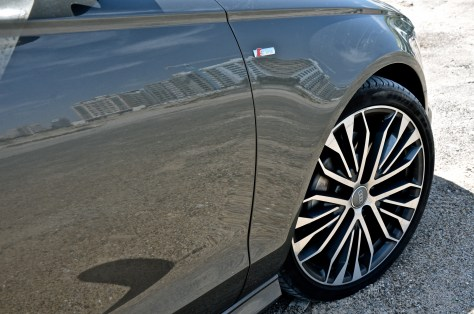 "20"" alloy wheels, 5-arm star design, contrast grey, partly polished - Audi A6 2016 sedan"
