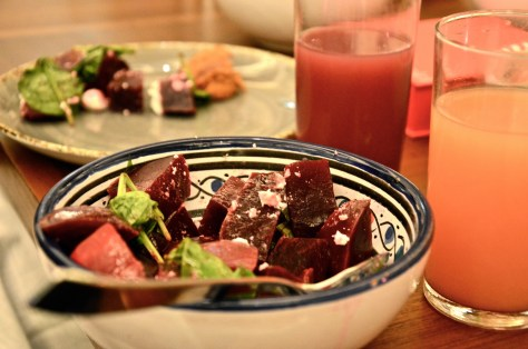 Beetroot salad at Dhs 195 Grand Hyatt Iftar Buffet