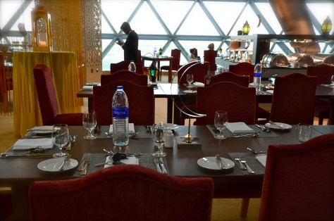 Sky Lounge interiors at Meydan Hotel