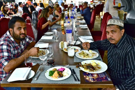 Diners at Dhs 170 Iftar buffet at Meydan Hotel