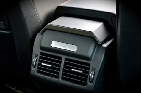 AC vents for rear passengers