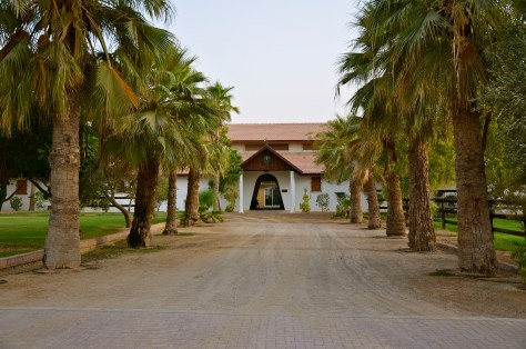 One of the many stables at Desert Palm Per Aquum