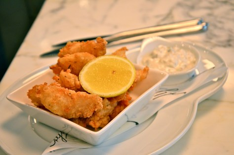 COD GOUJONS with Tartar sauce - AED 90