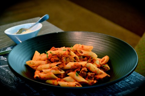 Lamb Ragu with Organic Penne - Aed 68