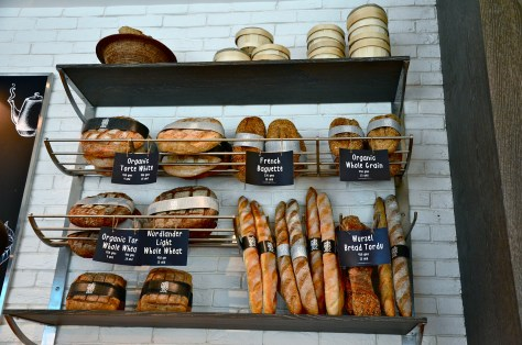 Freshly made bread at Cafe 302