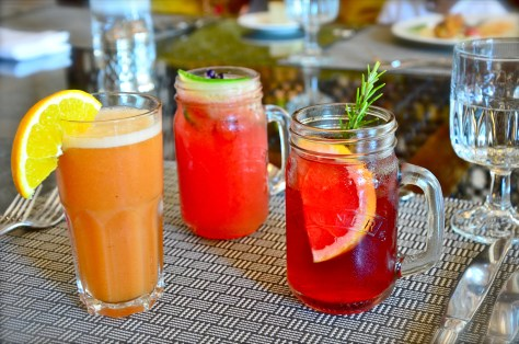 Mocktails at Ewaan, The Palace Downtown Dubai