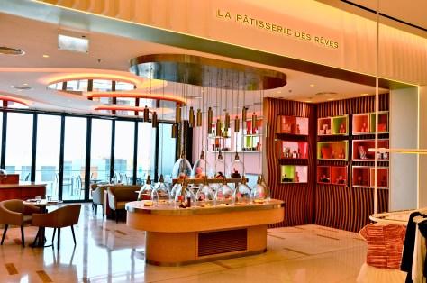 Entrace to La Pâtisserie des Rêves on second floor at Kids Level, City Walk Dubai