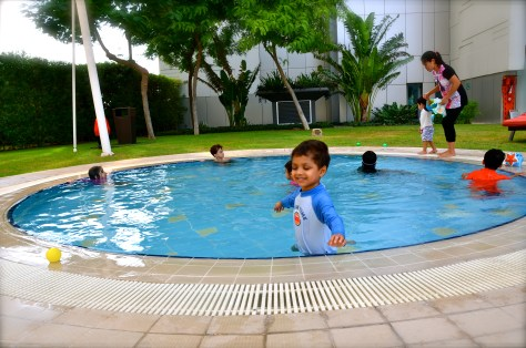 Sheltered kids pool, Park Rotana AbuDhabi