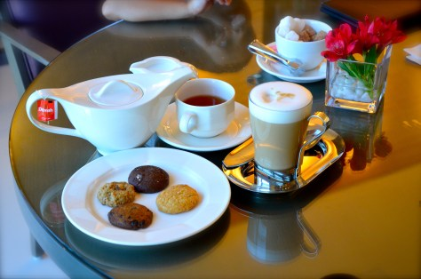 Tea, Coffee and Cookies at Club Rotana