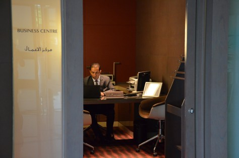 Dedicated Business office at Park Rotana