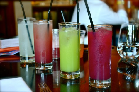 Mocktails and Fruit Juices