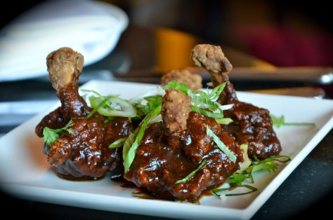 Hot starter - Tamarind spiced wings