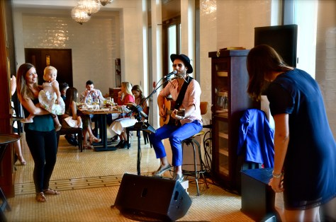 LIVE music at Bread Street Kitchen Family Brunch