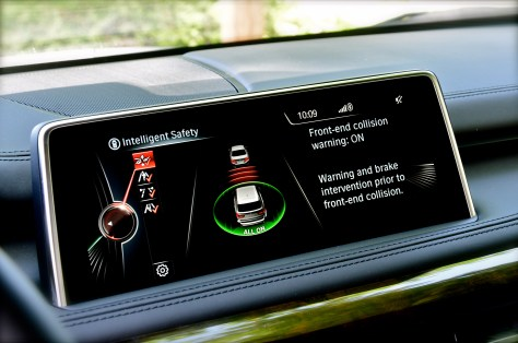BMW Driver assistance technology
