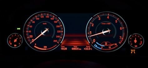 Multifunctional Instrument Display - BMW comfort