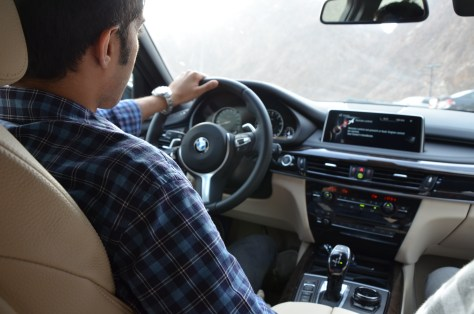 Me driving the BMW x5 2016