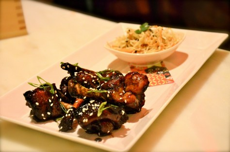 Teriyaki Glazed chicken wings - AED 50