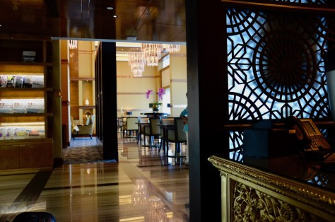 Private check-in and check-out at Dusit Club Lounge